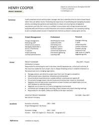 Construction Project Manager Resume Template Simple It Contractor Cv Template Yelommyphonecompanyco
