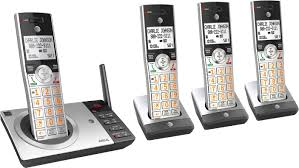 at t cl82407 dect 6 0 expandable cordless phone system with digital answering system and smart call blocker multi cl82407 best