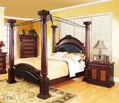 Unique canopy bed Unique Furniture Ebay Wood Canopy Bed Ebay