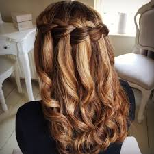 Hairstyle Waterfall updo hairstyle pull through waterfall braid hairstyle easy hairstyles 1826 by stevesalt.us