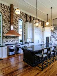 Faux Exposed Brick Apartments Captivating Exposed Brick Kitchen Home Design And