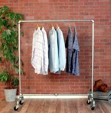 pipe clothing rack image 0 wall mounted diy