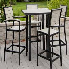 high top patio table furniture lovely wicker outdoor