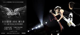 Aerosmith Park Theater At Park Mgm Las Vegas Nv