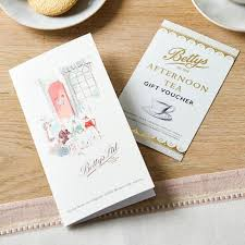 cafe afternoon tea voucher