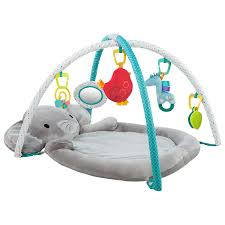 buy bright starts enchanted elephant baby gym  john lewis