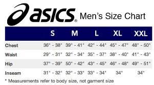 Asics Women S Socks Size Chart Asics Mens Size Chart Asics