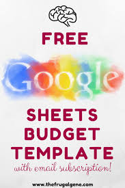 google doc budget template personal monthly google budget spreadsheet template free download