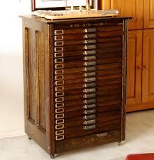 hamilton printers cabinet | Collectors Weekly
