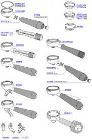 coffee machine parts. Delighful Parts VBM  Portafilters And Filter Baskets In Coffee Machine Parts W
