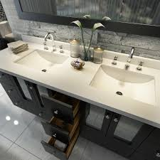 double sink vanity tops for bathrooms. americano 73 inch double sink bathroom vanity black finish tops for bathrooms s