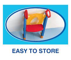 Chummie Joy 6 In 1 <b>Portable Potty</b> Training Ladder Step Stool For ...