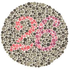 Now you can show it! Ishihara Test For Color Blindness