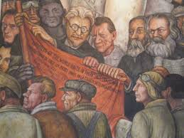 diego rivera murals rockefeller. Contemporary Murals Detail Of Man Controller The Universe Showing Leon Trotski Friedrich  Engels To Diego Rivera Murals Rockefeller