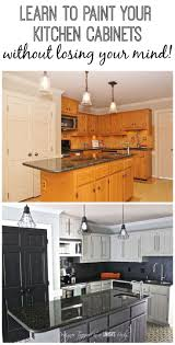 Small Picture Best 25 Repainted kitchen cabinets ideas on Pinterest Painting