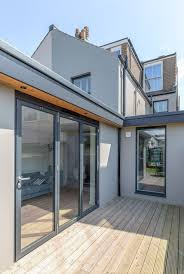 modern bi fold doors floor to ceiling
