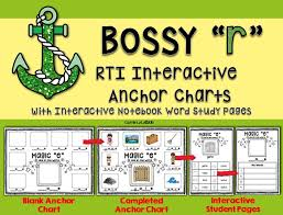 Anchor Charts Fascinating Comprehensive Phonics Anchor Charts And Activities For Bossy R