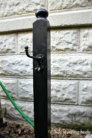 garden hose hanger with storage at offi co romantic garden hose holder freestanding