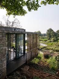 Architecture Rustic Nature Home Design Decoration Using Natural - Exterior walls