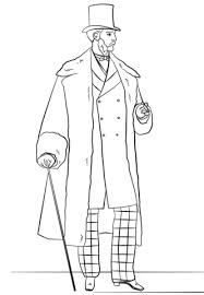 Small Picture Victorian Mens Fashion coloring page Free Printable Coloring Pages