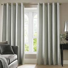 ashley wilde cairo lined eyelet textured curtains duck egg