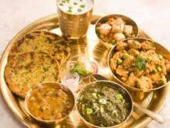Count Your Calories Heres How Your Average Indian Lunch