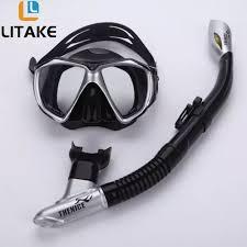 O&S Professional Snorkeling <b>Diving</b> Set Kit Gear Equipment <b>Myopia</b> ...