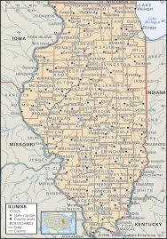 state and county maps of illinois