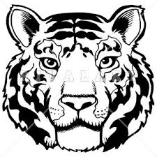 tiger head clip art black and white. Head Clipart White Tiger Best Clip Art Png Black And Library Throughout
