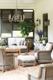 Covered porch furniture Narrow How To Arrange Your Porch Furniture For Maximum Comfort Ballard Designs 15 Ways To Arrange Your Porch Furniture