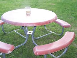 home depot child picnic table