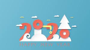 Super Happy New Year 2020 5k Wallpaper Hd Wallpapers