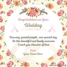 Wedding Card Quotes wedding card greeting make wedding congratulations wishes quotes 52