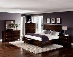 bedroom color ideas with dark brown furniture