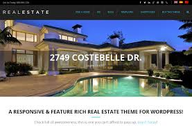 Real Estate Website Templates Amazing 48 Best Real Estate WordPress Themes Free Premium FreshDesignweb