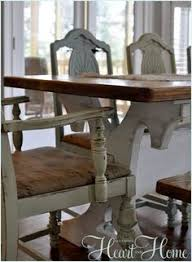 recovering farm table chairs cote dining roomscote