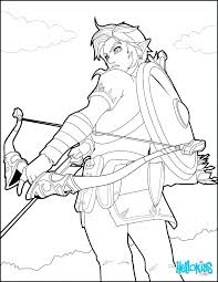 Legend Of Zelda Coloring Pages Link And Coloring Pages Legend Of