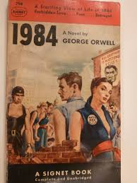 george orwell bracing views my new old copy of orwell s 1984
