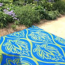blue outdoor carpet flora green indoor rug attic vintage french style roll rugs galore