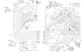 club car 48 volt wiring diagram 2003 club car battery wiring 1988 club car wiring diagram at 1990 Electric Club Car Golf Cart Wiring Diagram