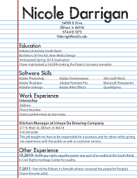 Amazing How To Make A Resume For First Job Horsh Beirut