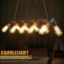 diy industrial pipe pendant light industrial pipe ceiling light retro steampunk lamp iron island pendant all diy industrial pipe pendant light