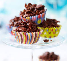 Cooking With Kids Chocolate Cornflake Cakes Recipe Bbc Good Food