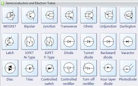 electrical diagram software create an electrical diagram easily electrical diagram symbols semiconductors