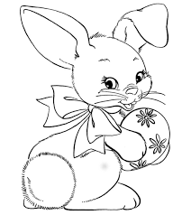 Nine printable easter mazes for kids to do in any setting: Top 15 Free Printable Easter Bunny Coloring Pages Online