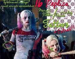 Harley Quinn Tattoo Etsy