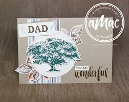i made this card for my dad and father in law using the wonderful nature s poem suite