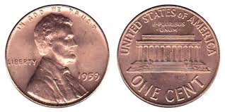 Lincoln Memorial Penny Values Chart 1959 Lincoln Memorial Penny Coin Value Prices Photos Info