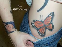 219 3d Tattoo Design Photos Monarch Butterfly Tattoos Tat Flickr