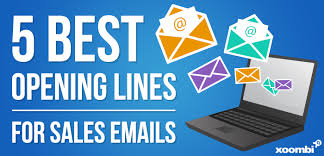Sales Lines The 5 Best Opening Lines For Cold Sales Emails